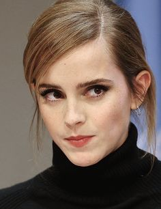 Emma Watson speaks at the launch of the HeForShe IMPACT 10x10x10 University Parity Report at The United Nations on September 20, 2016 in New York City.