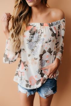 Adore this top! Flirty, feminine...perfect.