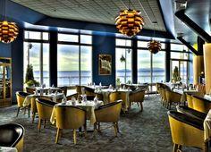 Main Dining Room Hospitality Interior Design of Aqua by El Gaucho Restaurant, Seattle