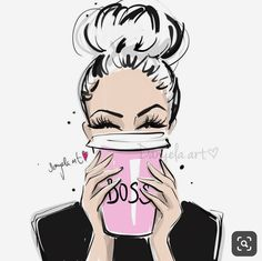 Triple BOSSY ESPRESSO for today morning please! 💕 15 min sunday evening sketch for better monday morning ✍🏻 Have a beautiful… Fashion Sketches, Art Sketches, Art Drawings, Art Mural Fashion, Fashion Art, Top Fashion, Mode Poster, Girl Boss, Boss Babe