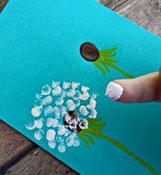 loewenzaehne-with-children Paint - DIY - Basteln mit Kindern - Kids Crafts, Summer Crafts, Toddler Crafts, Crafts To Do, Preschool Crafts, Projects For Kids, Diy For Kids, Arts And Crafts, Free Preschool