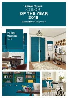 Check out and be inspired by the paint companies' picks for their 2018 Colors of the Year! All beautiful paint colors with rich undertones.