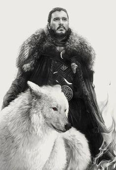 Game of Thrones - Jon Snow Robb Stark Bran Stark Jamie Lannister Brienne of Tarth Ygritt Jon Snow Costume Diy, Jon Snow Cosplay, Game Of Thrones Artwork, Game Of Thrones Tv, Game Of Thrones Direwolves, Jamie Lannister And Brienne, Ygritte And Jon Snow, Jon Snow Quotes, Casa Stark