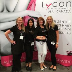 The Lycon team with Founder and CEO Lydia Jordane at IECSC Las Vegas! Experience the LYCON Precision Waxing system at booth #1851 ❤️✈️ @iecsc #Lycon #wax #system #LVSpaShow #cosmetics #waxing #professional #hairremoval #lycojet #lycotec #lyconspa #prepost #stripwax #hotwax #usa #lasvegas #australia #worldwide #beauty #ispadoyou #iecsc #esthetics #brazilians #spashow #education #spa #salon