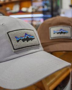 """08697fd4aaf25 Fat Buddha Store on Instagram  """"The Patagonia Fitzroy Trout Patch Cap in Timber  Brown and Drifter Grey is available in store and online priced at £30.00 ..."""
