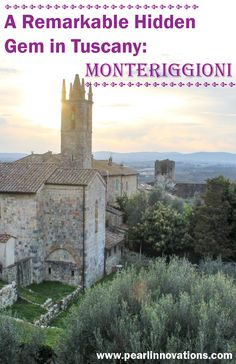 Just 40 minutes from Florence and 20 minutes from Siena, Monteriggioni is the perfect medieval trip to add to your Tuscan itinerary.