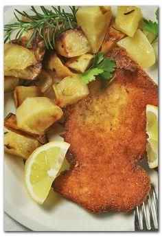 Cotoletta and Potatoes