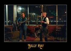 Billy Kay and Alex Burke perform at Slaughters in Port Orchard, WA