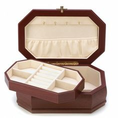 This lovely jewelry box will make a great edition to your home as well as keeping your pieces of jewelry safe and organized