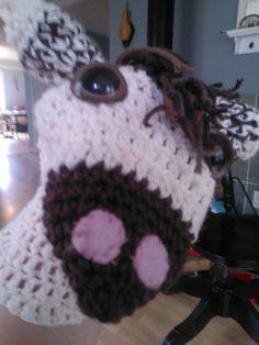 horsie hand puppet  #crochet