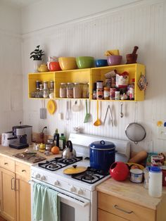 My friend Danielle swift's awesome kitchen in savannah