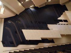 Alvar Aalto - Finlandia Hall, Helsinki - interior