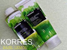 Zesty Bath & Body Duo - Korres Basil Lemon Shower Gel...