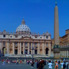The Vatican, Rome, Italy   Saw the Pope in the square giving blessings Oct 2006
