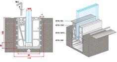 In-Floor Glass Balustrading (Balcony) System