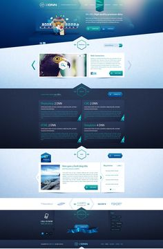 web design inspiration, can work with screen res e-learning with some adjustment
