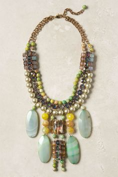 Icterina Bib Necklace - Anthropologie.com