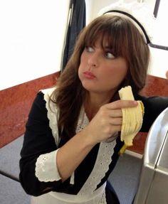 "Ooh la la, LA! Lucky Stiff is in the Hollywood Film Fest tmrw (Fri 10/17 @9:45pm)! I play ""Le Drunk French Maid."""