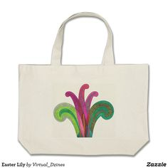 Easter Lily #totebag