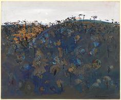 Upwey hillside   Fred WILLIAMS   NGV   View Work Australian Painters, Australian Artists, Fred Williams, Landscape Paintings, Landscapes, Olsen, Melbourne, Art Ideas, Inspire