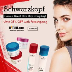 Have A Great Hair Day Everyday | Schwarzkopf Professional Upto 25% OFF with Freeshipping at Liftune.com   #SchwarzkopfProfessional #HairCare #SchwarzkopfShampoo #SchwarzkopfConditioner #SchwarzkopfTreatment #BestDeal #Offer #Online #Liftune #Osis #HairWax #HairStyling