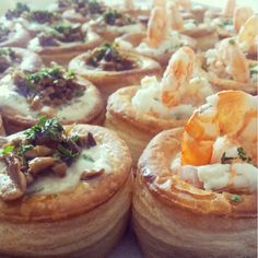 Recipe Corner: Vol-au-vent with prawns and mushroom
