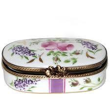 porcelain box