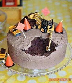 Easy boy's birthday cake