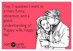 Top Three Qualities found mine! Poor randy, he had no idea what level of crazy he attached himself to!