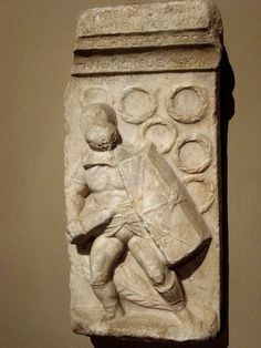 - Grave stele of a gladiator . From Tralles , Aydin . Ancient Egyptian Art, Ancient Aliens, Ancient Rome, Ancient History, Ancient Greece, Roman History, European History, American History, Roman Sculpture