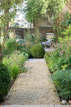 Herb Garden, Home And Garden, Gravel Pathway, York Stone, Council Estate, Garden Inspiration, Garden Ideas, Garden Features, Dream Garden