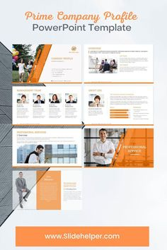 Company profile PowerPoint template contains over 200 professional-looking business presentation slide templates. The template is available in multiple color themes to match your brand. Company Profile Presentation, Presentation Slides, Business Presentation, Presentation Templates, Professional Powerpoint Templates, Microsoft Powerpoint, Annual Report Design, Color Themes, The Help