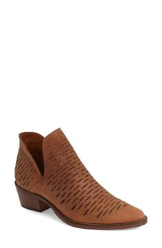 Steve Madden 'Arowe' Perforated Bootie (Women) available at #Nordstrom