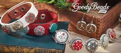 GoodyBeads.com Blog   Holiday Snap Charm Jewelry