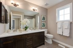 The Hampton - Main Bath Up House, New Home Builders, The Hamptons, New Homes, Double Sinks, Interior Design, Bath, Home Decor, Furniture