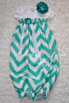 Baby Girl Onesie Dress Baby Girl Dress Chevron by ChelseaRoseBaby, $33.00 I absolutely love this!!