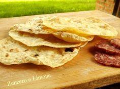 sfoglie di pane senza lievito