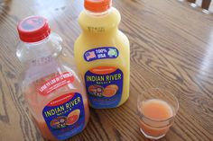 Taste the difference of Indian River Orange & Grapefruit Juices!