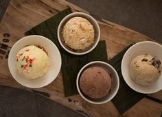Ice creams! Off the hook! I LOVE living in the San Francisco Bay Area. Where to go first? Yum ... via PureWow.com