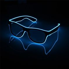 Home & Garden Beautiful Standard Luminous Led Glasses El Wire Fashion Neon For Dancing Party Bar Glow Rave Atmosphere Activating Dj Bright Glasses Props Numerous In Variety