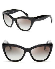 Prada Cat Eye Sunglasses   Bloomingdale's