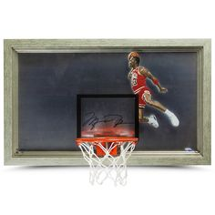 d48bc0c59a1 MICHAEL JORDAN AUTOGRAPHED 1988 SLAM DUNK BACKBOARD UDA - Game Day Legends  - www.gamedaylegends