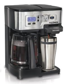 Hamilton Beach Single Serve Coffee Brewer and Full Pot Coffee Maker, FlexBrew (49983A), http://www.amazon.com/dp/B00IWOJSAY/ref=cm_sw_r_pi_awdm_U-qIvb1S6GAWP