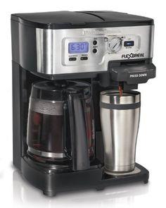Hamilton Beach Single Serve Coffee Brewer and Full Pot Coffee Maker, FlexBrew (49983A), http://www.amazon.com/dp/B00IWOJSAY/ref=cm_sw_r_pi_awdm_U-qIvb1S6GAWP