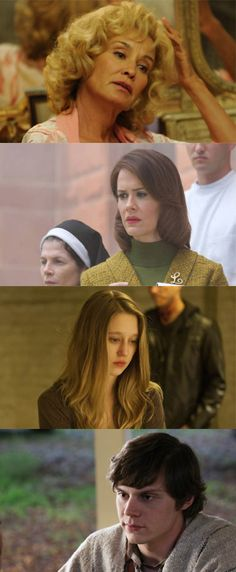 American Horror Story these are the 4 people on this show that I am so attracted to.