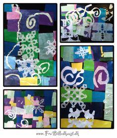 Papirklip med inspiration fra Matisse