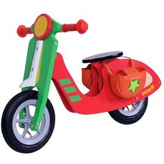 Take a look at this DUSHI Red & Green Wood Scooter on zulily today! Toddler Toys, Kids Toys, Baby Toys, Boys Scooter, Scooter Bike, Wooden Scooter, Wood Bike, Boy Walking, Star Decorations