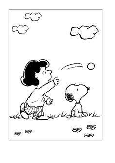 snoopy coloring pages 2