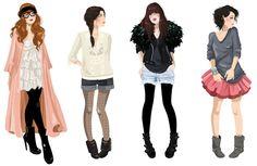 Blogueuse chérie | Diglee Illustratrice