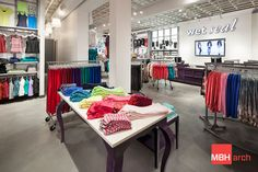 Wet Seal /// MBH Architects is a full service architecture firm headquartered in the San Francisco Bay Area. We specialize in retail, restaurant, multifamily housing, mixed use, workspace, hospitality, and healthcare architecture and design. For more info, check us out at mbharch.com